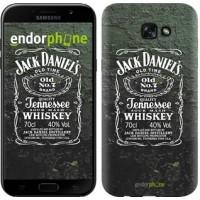 Чехол для Samsung Galaxy A7 (2017) Whiskey Jack Daniels 822m-445