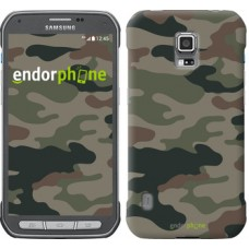 Чехол для Samsung Galaxy S5 Active G870 Камуфляж v3 1097u-364