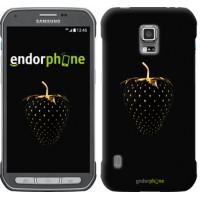 Чехол для Samsung Galaxy S5 Active G870 Черная клубника 3585u-364
