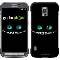 Чехол для Samsung Galaxy S5 Active G870 Чеширский кот 689u-364