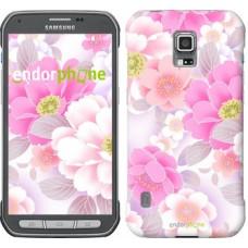 Чехол для Samsung Galaxy S5 Active G870 Цвет яблони 2225u-364