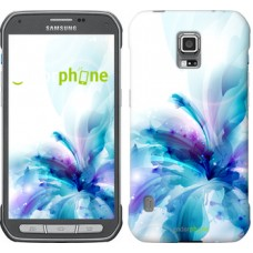 Чехол для Samsung Galaxy S5 Active G870 цветок 2265u-364