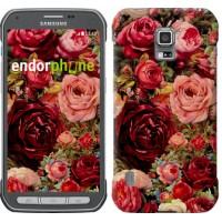 Чехол для Samsung Galaxy S5 Active G870 Цветущие розы 2701u-364