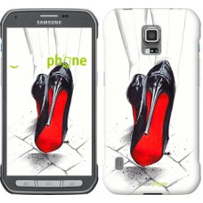 Чехол для Samsung Galaxy S5 Active G870 Devil Wears Louboutin 2834u-364