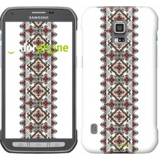 Чехол для Samsung Galaxy S5 Active G870 Вышиванка 22 590u-364