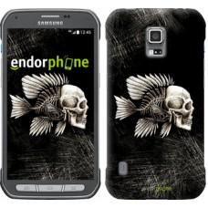 Чехол для Samsung Galaxy S5 Active G870 Рыбо-человек 683u-364