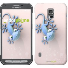 Чехол для Samsung Galaxy S5 Active G870 Гекончик 1094u-364