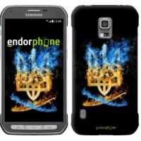 Чехол для Samsung Galaxy S5 Active G870 Герб 1635u-364