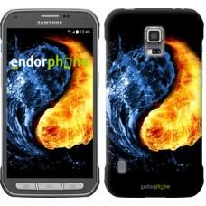 Чехол для Samsung Galaxy S5 Active G870 Инь-Янь 1670u-364
