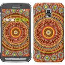 Чехол для Samsung Galaxy S5 Active G870 Индийский узор 2860u-364
