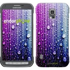 Чехол для Samsung Galaxy S5 Active G870 Капли воды 3351u-364
