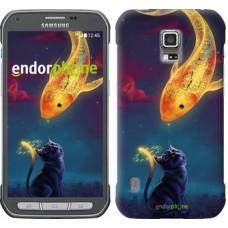 Чехол для Samsung Galaxy S5 Active G870 Кошкин сон 3017u-364