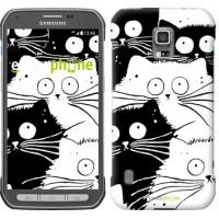 Чехол для Samsung Galaxy S5 Active G870 Коты v2 3565u-364