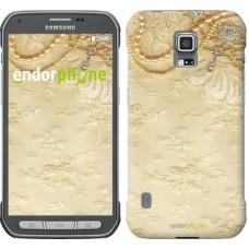 Чехол для Samsung Galaxy S5 Active G870 Кружевной орнамент 2160u-364
