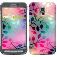 Чехол для Samsung Galaxy S5 Active G870 Листья 2235u-364