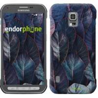 Чехол для Samsung Galaxy S5 Active G870 Листья v3 3328u-364