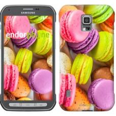 Чехол для Samsung Galaxy S5 Active G870 Макаруны 2995u-364
