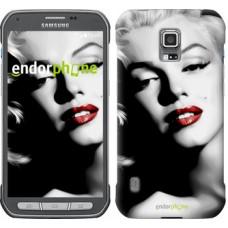 Чехол для Samsung Galaxy S5 Active G870 Мэрилин Монро 2370u-364