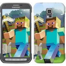 Чехол для Samsung Galaxy S5 Active G870 Minecraft 4 2944u-364