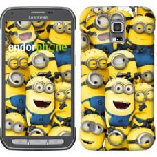 Чехол для Samsung Galaxy S5 Active G870 Миньоны 8 860u-364
