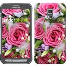 Чехол для Samsung Galaxy S5 Active G870 Нежность 2916u-364