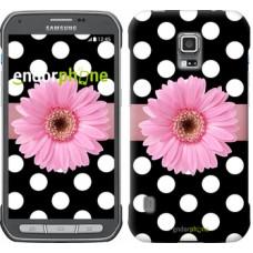Чехол для Samsung Galaxy S5 Active G870 Горошек 2 2147u-364