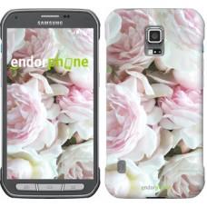 Чехол для Samsung Galaxy S5 Active G870 Пионы v2 2706u-364