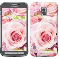 Чехол для Samsung Galaxy S5 Active G870 Розы 525u-364