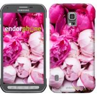 Чехол для Samsung Galaxy S5 Active G870 Розовые пионы 2747u-364