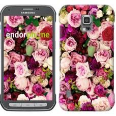 Чехол для Samsung Galaxy S5 Active G870 Розы и пионы 2875u-364