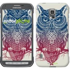 Чехол для Samsung Galaxy S5 Active G870 Сова 2 2726u-364