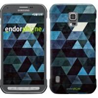 Чехол для Samsung Galaxy S5 Active G870 Треугольники 2859u-364