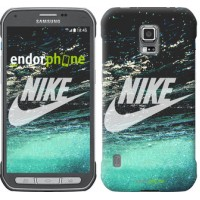 Чехол для Samsung Galaxy S5 Active G870 Water Nike 2720u-364