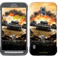 Чехол для Samsung Galaxy S5 Active G870 World of tanks v1 834u-364