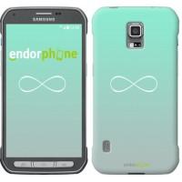 Чехол для Samsung Galaxy S5 Active G870 Знак бесконечности 3204u-364