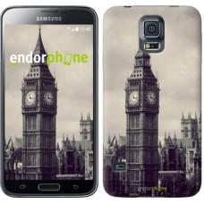 Чехол для Samsung Galaxy S5 Duos SM G900FD Биг Бен 849c-62