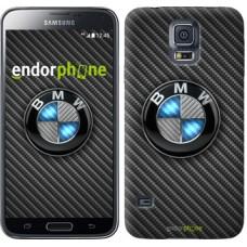 Чехол для Samsung Galaxy S5 Duos SM G900FD BMW. Logo v3 3109c-62