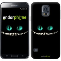 Чехол для Samsung Galaxy S5 Duos SM G900FD Чеширский кот 689c-62