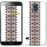 Чехол для Samsung Galaxy S5 Duos SM G900FD Вышиванка 22 590c-62