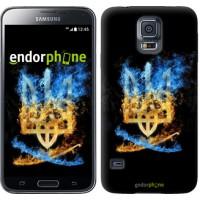 Чехол для Samsung Galaxy S5 Duos SM G900FD Герб 1635c-62
