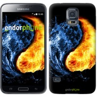 Чехол для Samsung Galaxy S5 Duos SM G900FD Инь-Янь 1670c-62