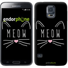 Чехол для Samsung Galaxy S5 Duos SM G900FD Kitty 3677c-62