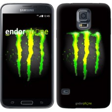 Чехол для Samsung Galaxy S5 Duos SM G900FD Monster energy 821c-62