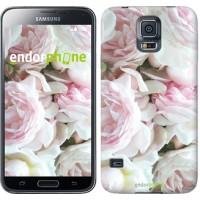 Чехол для Samsung Galaxy S5 Duos SM G900FD Пионы v2 2706c-62