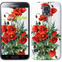 Чехол для Samsung Galaxy S5 Duos SM G900FD Маки 523c-62