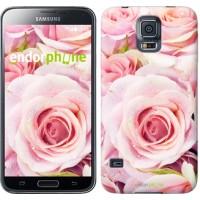 Чехол для Samsung Galaxy S5 Duos SM G900FD Розы 525c-62