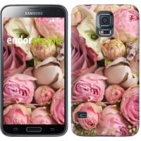 Чехол для Samsung Galaxy S5 Duos SM G900FD Розы v2 2320c-62