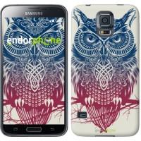 Чехол для Samsung Galaxy S5 Duos SM G900FD Сова 2 2726c-62