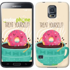 Чехол для Samsung Galaxy S5 Duos SM G900FD Treat Yourself 2687c-62