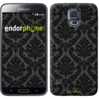 Чехол для Samsung Galaxy S5 Duos SM G900FD Винтажный узор 2269c-62